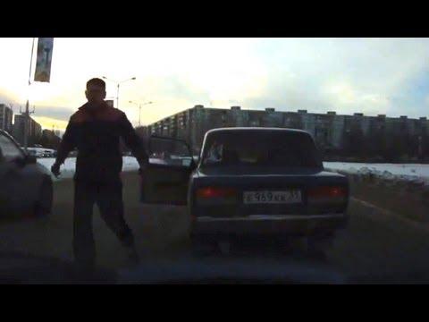 Divertida venganza tras discusión en carretera