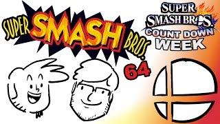 SMASH WEEK!! – celebrating past Smash game iterations in preparation for Smash Bros. for 3DS!