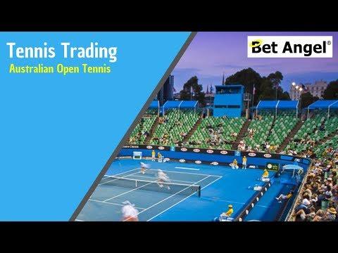Betfair Tennis trading - Australian Open Tennis