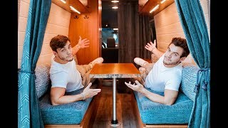 VAN TOUR | Custom Built For Twins To Live In