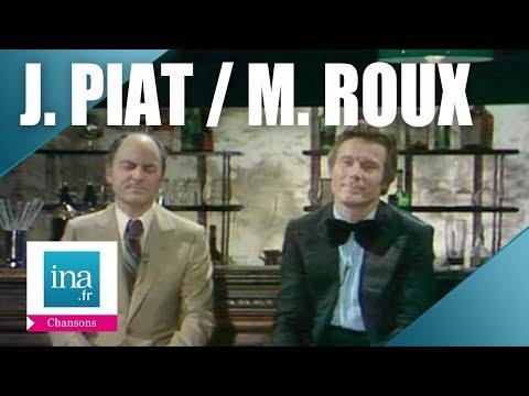 """Jean Piat et Michel Roux """"Pas deux comme elle"""" - Archive vidéo INA"""