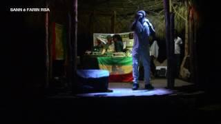 Extrait prestation de l'artiste Reggae originaire de Londres CHUKKI STARR à l'espace Ksoné à Sainte-Rose 971, lors de...