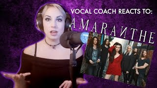 Vocal Coach Mary Z Reacts To: Amaranthe