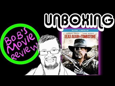 Dead Again In Tombstone Blu-Ray Unboxing (Giveaway Ended)