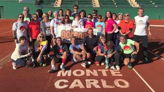 Migliorare il proprio talento tennistico si può fare ad ogni età. Farlo sui campi del Monte-Carlo Country Club è un sogno!