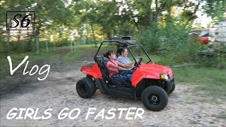 9. The Girls Were Faster | Polaris RZR 170 first run | Simple6 Vlogs