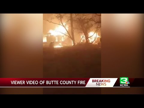 Viewer Video Offers Harrowing Glimpse of Camp Fire In Butte County