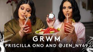 Video GRWM WITH PRISCILLA ONO AND @JEN_NY69   FENTY BEAUTY MP3, 3GP, MP4, WEBM, AVI, FLV Januari 2019