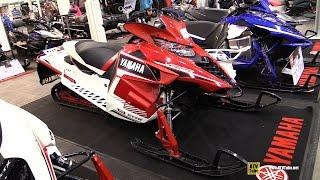 7. 2016 Yamaha SR Viper L-TX SE Sled - Walkaround - 2015 Toronto Snowmobile & ATV Show