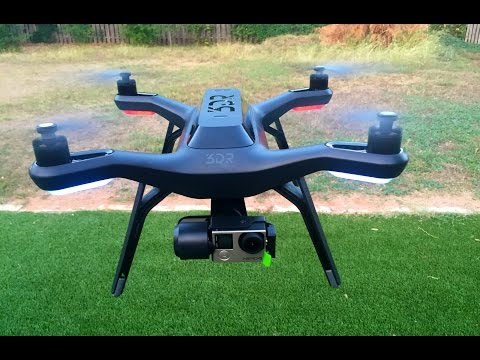 3DR Solo Drone Quadcopter with video game-style controller