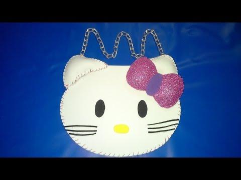 borsetta di hello kitty in foamy