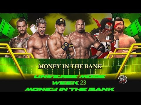 Video WWE 2K14 Universe Mode Week 23 Money in the Bank Ladder Match download in MP3, 3GP, MP4, WEBM, AVI, FLV January 2017