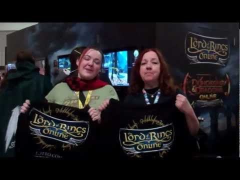 PAX East 2012 Happy Birthday LOTRO