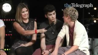 One Direction interview with Elle Halliwell April 2012 on The Telegraph, Australia!