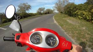8. Hyosung Prima - Test Ride