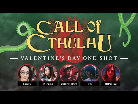 Call of Cthulhu | Valentine's Day Special! | Roll20 Games Master Series