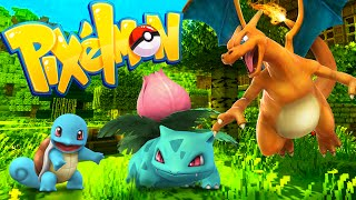 A BRAND NEW POKEMON ADVENTURE! Episode 1 (Minecraft Pixelmon Island)