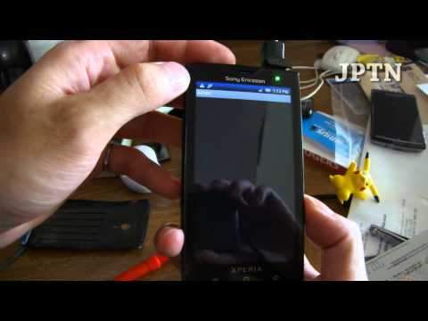Xperia X10: Flashing Wolf's Tweaked v2.3 Gingerbread Firmware
