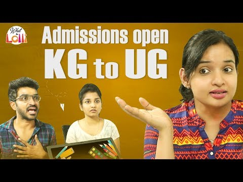 Admissions Open - KG To UG || Latest Telugu Comedy Video || What The Lolli