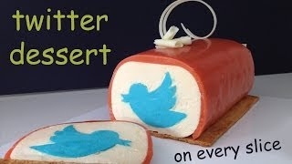 Twitter Dessert SWEET TWEET How To Cook That Ann Reardon Twitter Cake