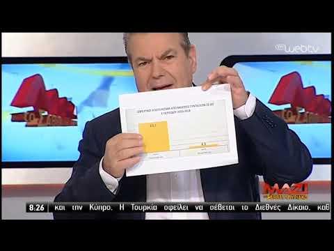 Ο Τ. Πετρόπουλος στην ΕΡΤ | 23/3/2019 | ΕΡΤ