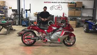 CHECK IT OUT CHECK IT OUT! 2016 SUZUKI HAYABUSA ONLY 19 MILES WITH ALL THE CHROME YOU COULD EVER ...