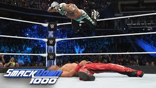 Nonton Rey Mysterio Vs  Shinsuke Nakamura   Wwe World Cup Qualifying Match  Smackdown 1000  Oct  16  2018 Film Subtitle Indonesia Streaming Movie Download