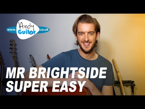 Video Mr Brightside - Simple acoustic guitar tutorial - The Killers download in MP3, 3GP, MP4, WEBM, AVI, FLV January 2017