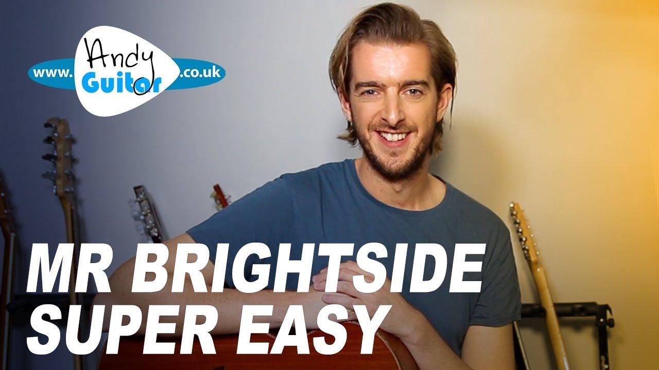 Mr Brightside – Simple acoustic guitar tutorial – The Killers