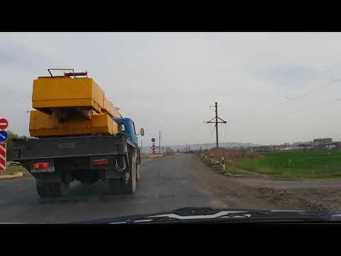 Из Витязево в Анапскую апрель 2018