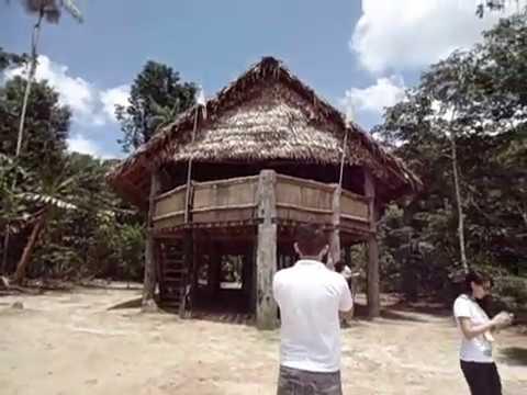 Acre- Aldeia Puyanawa em Cruzeiro do Sul- Amazônia com Rotas do Mundo 3
