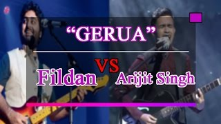 Download Video WOW Fildan Bau Bau VS Arijit Singh-Gerua #sama sama hebat bukan? MP3 3GP MP4