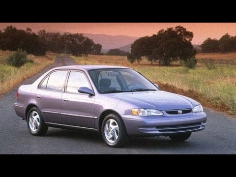 1998 Toyota Corolla Start Up and Review 1.8 L 4-Cylinder