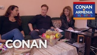 Video Conan & Sona Visit An Armenian Matchmaker  - CONAN on TBS MP3, 3GP, MP4, WEBM, AVI, FLV Februari 2019