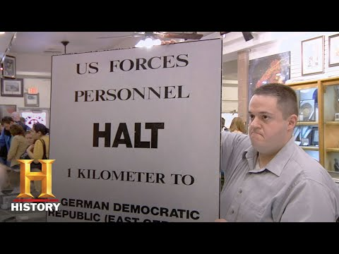 Pawn Stars: Sign from the Berlin Wall (Season 6) | History