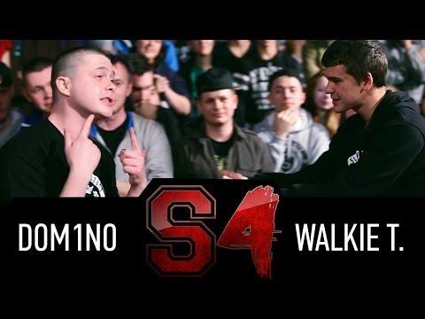 Slovo (Краснодар), 4 сезон, «Main Event»: Walkie T Vs Dom1no aka Many (2014)