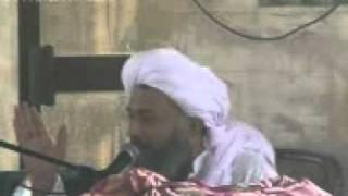 GUS E Azam Qanfarnce AND MEHFAL    NAAT   Murshid Sain ka Bayan 2