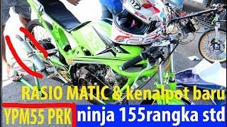 Video Lihat nih  operan Gigi Matic ninja ypm55 karya pencenk sikat No 1 Kejurnas Drag bike jogja 2017 : MP3, 3GP, MP4, WEBM, AVI, FLV Februari 2018