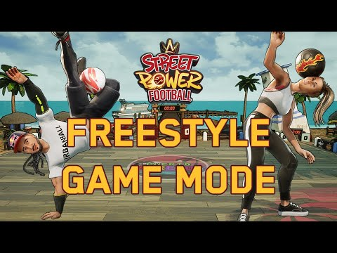 Freestyle Mode de Street Power Soccer