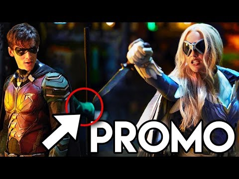 Titans Season 1 Episode 1 Promo - Robin Vs Dove FIGHT Scene Explained
