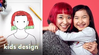 Video Kids Give Their Parents a Wild New Hairstyle | Kids Design | HiHo Kids MP3, 3GP, MP4, WEBM, AVI, FLV Maret 2019