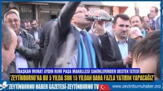 Başkan Murat Aydın İstikrar İçin Yolarda