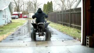 10. Yamaha Raptor 660R , Carbon-Fiber Series, Burnout! Limited Edition