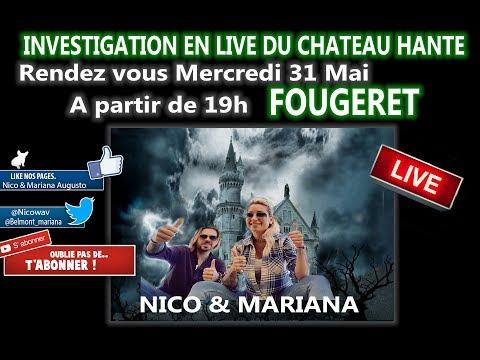 Grosse annonce :Première investigation au chateau de Fougeret Mercredi à partir de 19h