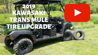 5. 2019 Kawasaki Trans Mule Tire Upgrade