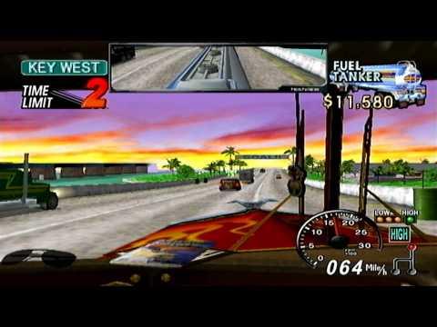18 Wheeler American Pro Trucker GameCube