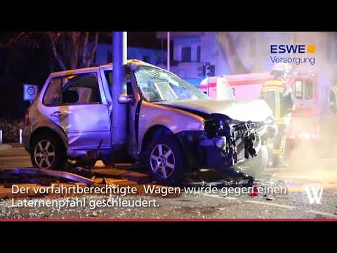 Wiesbaden: Sieben Verletzte bei Verkehrsunfall in d ...