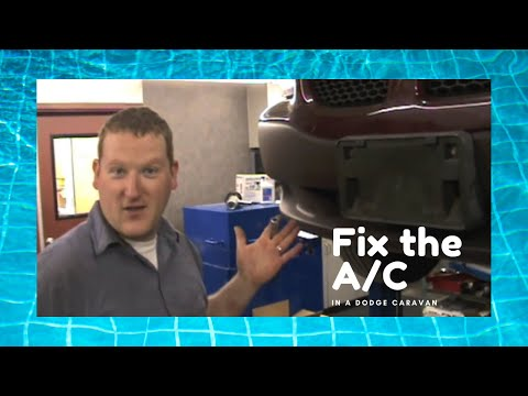 How to Repair a Dodge Caravan Air Conditioning System