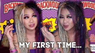 FIRST TIME SM0KING BACKWOODS! SM0KE SESH *it gets real* | Kimmy Tan by Kimmy Tan