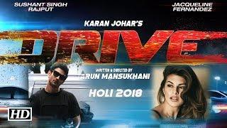 अभिनेता शुशांत सिंह राजपूत और जैकलीन फरनाडिस इन दिनों करन जौहर की आगामी फिल्म  ड्राइव   की शूटिंग में वयस्त हैं   Subscribe to Khabar Filmy Now - http://goo.gl/8CGyTZ LIKE  COMMENT  SHARE
